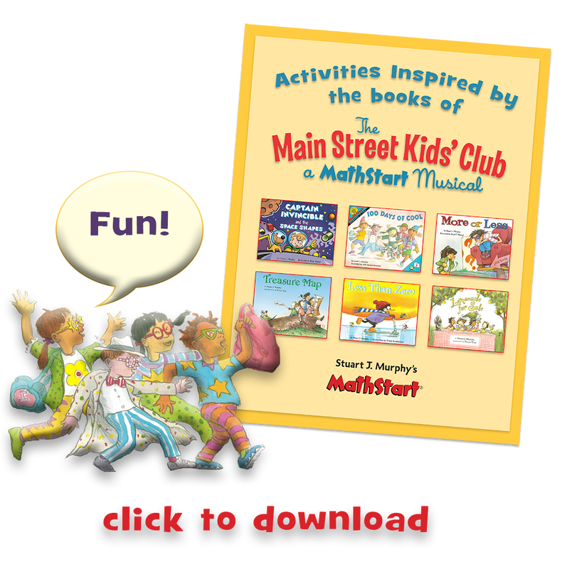 The Main Street Kids Club Mathstart Books